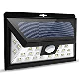 Litom 24 Big LED Solar Power Lights Waterproof Wide Angle Solar Lights Outdoor Garden Patio Lighting