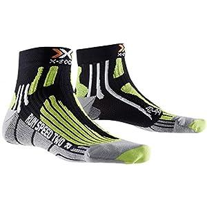 X Socks Chaussettes X-Socks Speed Two Noir Black/Green Lime 3