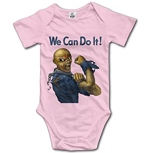 [Jirushi Infants &Toddlers Baby's Crawling We Can Do It Pink Shirts For 6-24 Months] (Alvin And The Chipmunks Costumes For Kids)