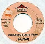 CLIMAX 45 RPM PRECIOUS AND FEW / PARK PRESERVE