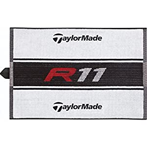 TaylorMade R11 Cart Towel, White
