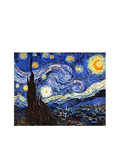 LegendArte Panel Decorativo Sobre Lona Notte Stellata di Vincent Van Gogh