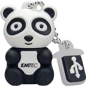 Emtec M310 Mini Clé USB Zoo Panda 8 Go