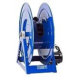 Coxreels 1185-2024-A Compressed Air #4 Gast Motor Rewind Hose Reel: 1 1/2