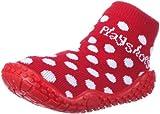 Playshoes Aqua-Socke Punkte 174803, Mädchen Dusch- & Badeschuhe, Rot (rot 8), EU 22/23