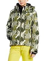 Hyra Chaqueta de Esquí Trafoi Lady (Verde Militar)