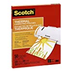 Scotch Thermal Laminating Pouches, 8....