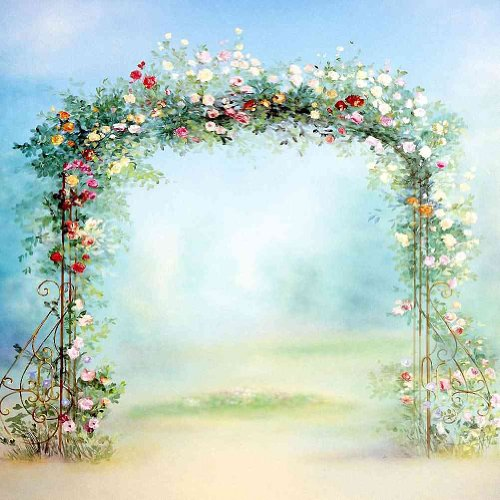 Hand Painted Arch