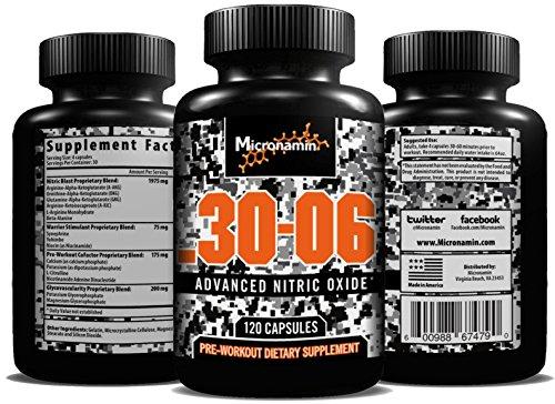 . 30-06 l'oxyde nitrique supplément - NO2