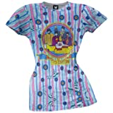 Beatles - Submarine Stripes Sublimation Juniors T-Shirt