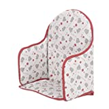 Obaby Highchair Insert Tiny Tatty Teddy (Red)