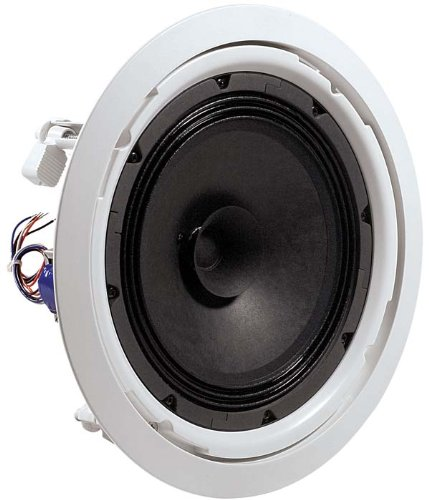 "Jbl 8128 In Ceiling Speaker 8"" Driver With Dual Cone, 70V/100V Taps, 90° Conical Coverage - Single Speaker"