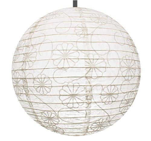 versahome pendant lamp light shade premium rice paper lantern compatible with ikea lamp. Black Bedroom Furniture Sets. Home Design Ideas