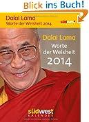 Dalai Lama - Worte der Weisheit 2014 Textabreißkalender
