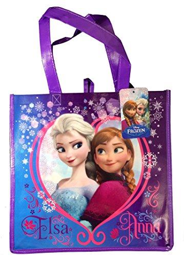 Disneys Frozen Elsa & Anna Reusable Tote Bag - 1