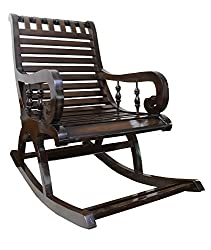 BigSmile Rocking Chair - Walnut Finish