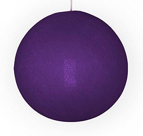 original cable cotton lampenschirm in lavendel gr e l besondere lichteffekte f r ihr zuhause. Black Bedroom Furniture Sets. Home Design Ideas