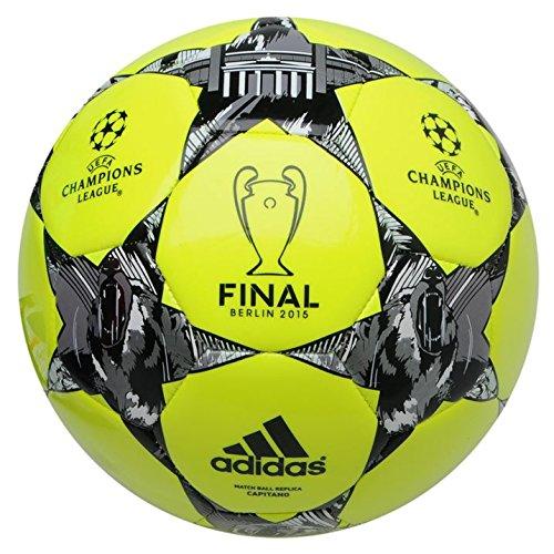 Adidas UEFA Champions League Finale Berlin calcio misura 5SOLAR colore giallo