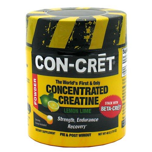 Con-Cret concentré de créatine en poudre, chaux