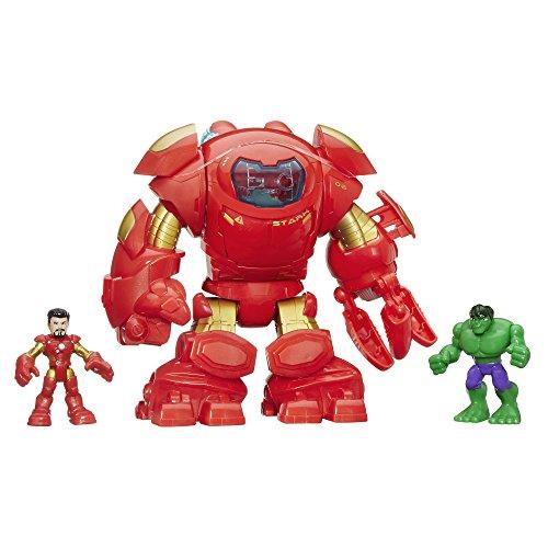 Playskool Heroes Marvel Super Hero Adventures Stark Tech Armor with Tony Stark Figure (Marvel Heros Toys compare prices)