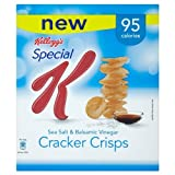 Kelloggs Special K Sea Salt & Balsamic Vinegar Cracker Crisps 24 x 23gram