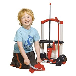 Casdon Henry Cleaning Trolley (Red And Black)