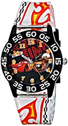 Disney Kids W001680 Cars Lightning McQueen & Tow Mater Plastic Watch, Printed Band