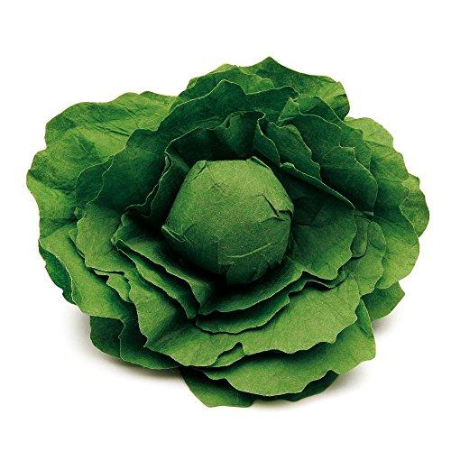 3 Stück Erzi Salatkopf, Spielzeug-Salatkopf,
