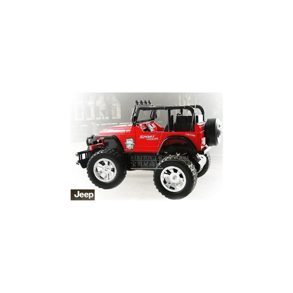 the jeep off road vehicles remote control car 10pcs