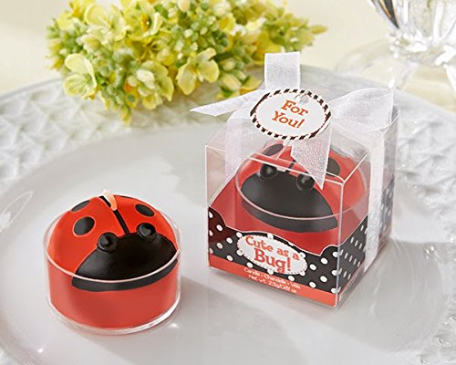 "24 ""Cute As A Bug"" Ladybug Tea Light"