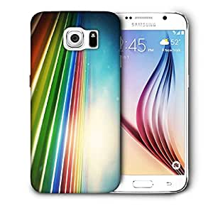 Snoogg Sunrise On Strips Printed Protective Phone Back Case Cover For Samsung Galaxy S6 / S IIIIII