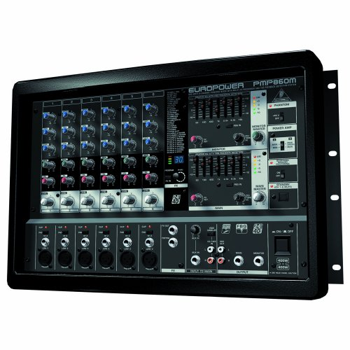 Behringer PMP960M Europower 900W 6 Channel Powered Mixer