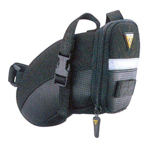 TOPEAK(トピーク) Aero Wedge Pack (Strap Mount) Sサイズ ブラック BAG21901