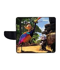 KolorEdge Printed Flip Cover For Samsung Galaxy J2 Multicolor - (1477-47KeMLogo10833SamJ2)