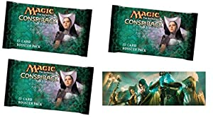 Conspiracy Booster Draft Set - Player Multiplayer-Focused Fun: Magic: the Gathering: 3 Booster Packs