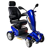"Odyssey GT Full Size Scooter with 18"" Captains Seat & 22 miles Range by Drive Medical"