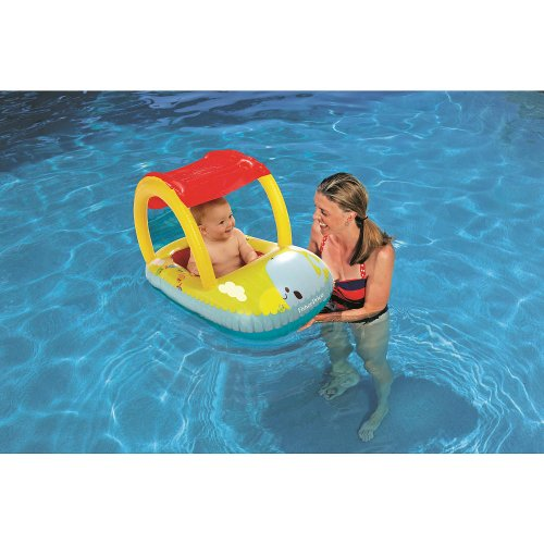 Fisher-Price® Sun Cover Baby Boat™ - Octopus