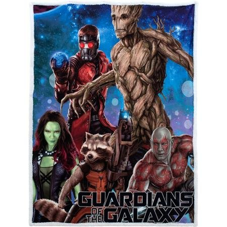 Guardians of the Galaxy Mink Sherpa Throw