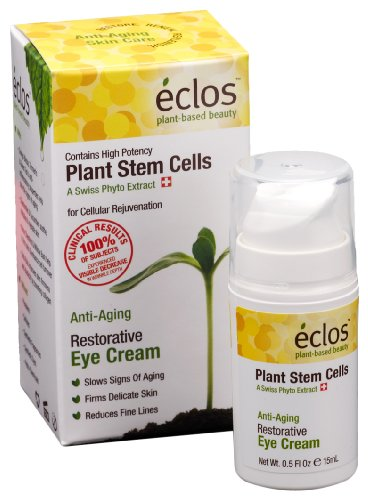 Eclos Restorative Eye Cream, 0.5-Ounce