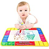 Culater®New Water Drawing Painting Writing Mat Board Magic Pen Doodle Toy Gift 29X19cm