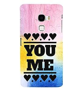 EPICCASE me and you Mobile Back Case Cover For LeTV Le Max (Designer Case)