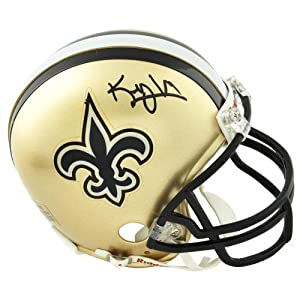 Riddell Kenny Vaccaro New Orleans Saints 2013 NFL Draft Autographed Mini Helmet -... by Sports Memorabilia