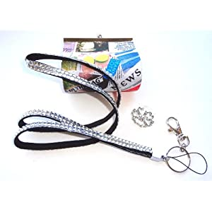Rhinestone ID Badge Lanyard Gift Set