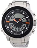 Boss Orange Men's Quartz Watch Diver 1512843 with Metal Strap