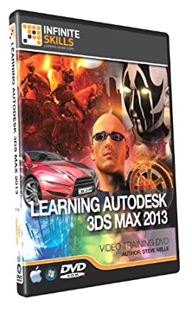 Beginners 3Ds Max 2013 Training DVD - Tutorial Video