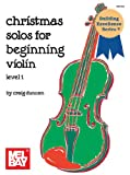 Mel Bay Christmas Solos for Beginning Violin (VOLUME 1)