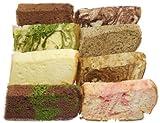 ふわふわしっとり 手づくり『米粉シフォンケーキ』 8種詰合せ