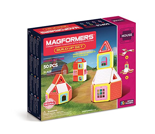 MAGFORMERS Build Up Set (50 Piece) JungleDealsBlog.com