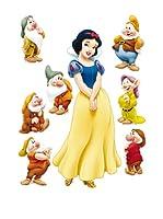 Pegatinas Decoración Blancanieves y los 7 Enanitos Princesas 45 x 65