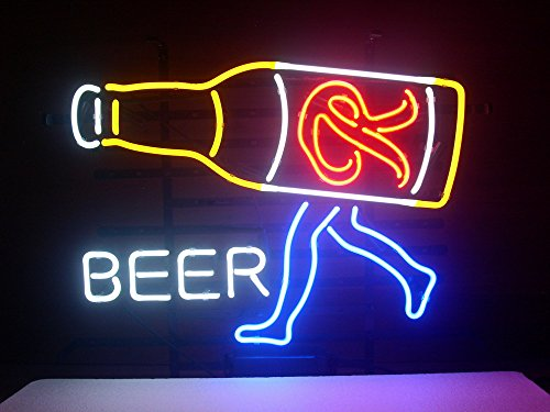 New Rainier Beer Real Glass Neon Light Sign Home Beer Bar Pub Recreation Room Game Room Windows Garage Wall Sign H141 (Rainier Beer Sign compare prices)